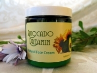 Avocado Dreamin Natural Face Cream - Product Image